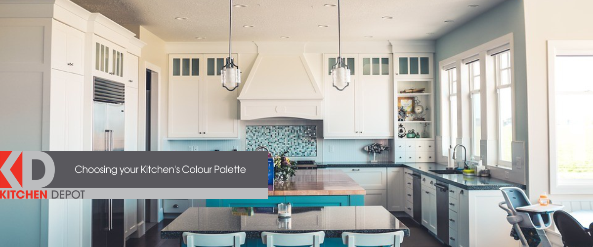 Stunning kitchen inspo to help you choose a kitchen colour palette perfect for your home.