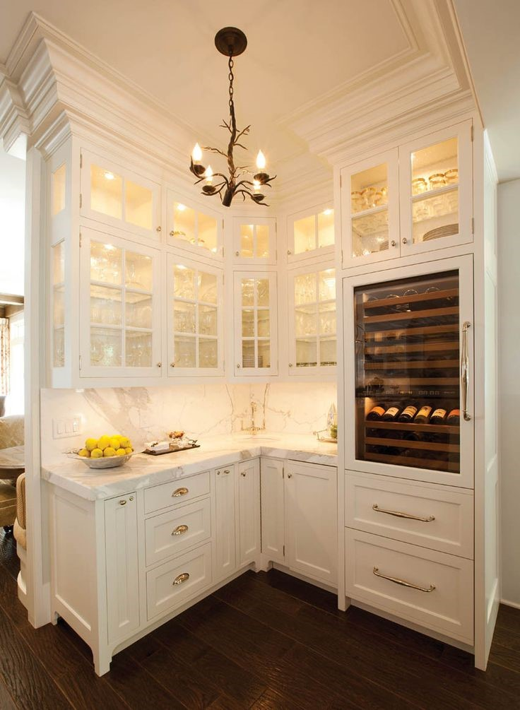 Cabinets with Lights Inside